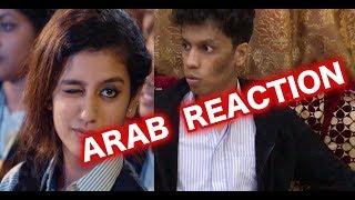 Priya Prakash Varrier (oru addar love) ARAB REACTING!!!!