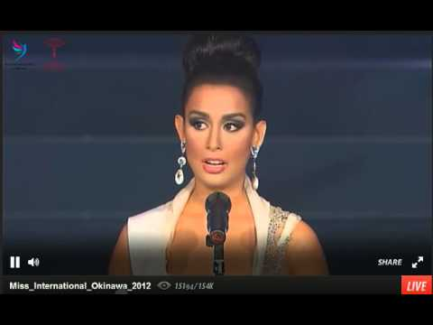 Miss Philippines on Miss International 2012
