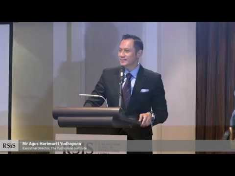 RSIS Distinguished Public Lecture by Mr Agus Harimurti Yudhoyono 13 July 2018