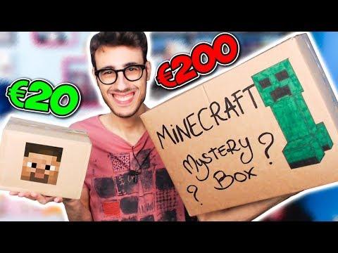 20€ VS 200€ MYSTERY BOX DI MINECRAFT