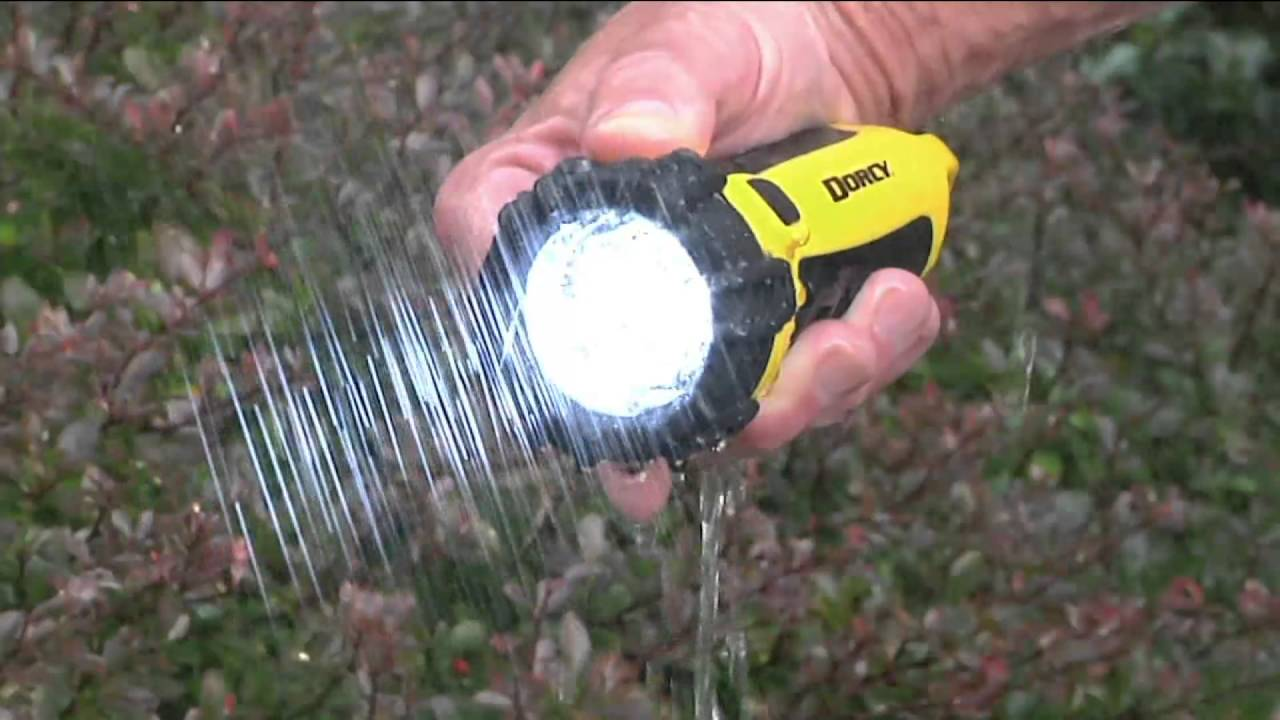 Dorcy 3-pack Water Resistant Floating LED Flashlights on QVC