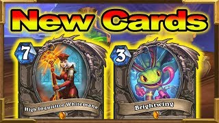 Hearthstone: 10 New Cards and 2 Cards Goes In Hall of Fame! Rise of Shadows