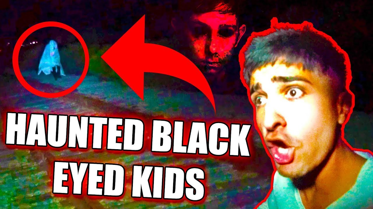 HAUNTED BLACK EYED KIDS AT 3AM CHALLENGE!!