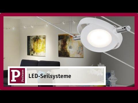 led seilsystem flexibel f r ihre r ume. Black Bedroom Furniture Sets. Home Design Ideas