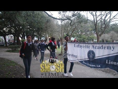 Lafayette Academy Marching In Washington Park Battle 2019