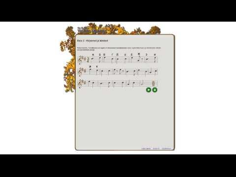 The Cyrillic alphabet song.
