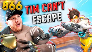TimTheTatman CAN'T Escape A SNIPER!!   Overwatch Daily Moments Ep.866 (Funny and Random Moments)