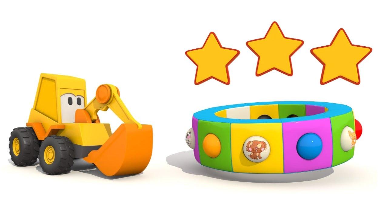 Cartoni animati per bambini l escavatore max e gli