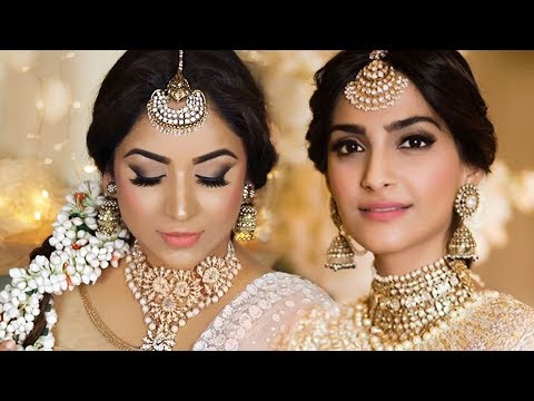 MAKEUP TUTORIAL: SONAM KAPOOR WEDDING SANGEET FULL LOOK