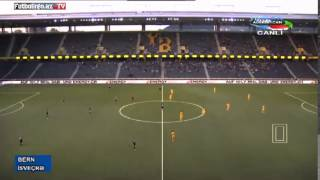 Young Boys 0-1 Qarabag (Highlights) Europa League pley-off