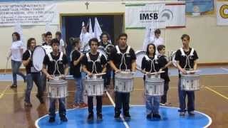 Hip Hop beat PERCUSSIE- Bedizzole Marching band (percussion day 2013)
