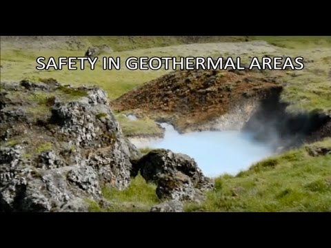 Safety in geothermal areas in Iceland