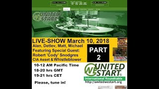 UWS Roundtable Discussion with Cody Snodgres Deep State Terror 20180310 Part 2