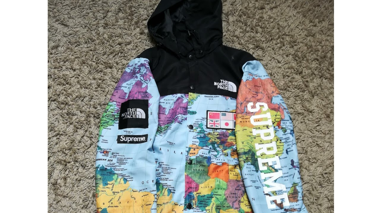 2449052849 THE NORTH FACE x SUPREME JACKET REPLICA FAKE - YouTube
