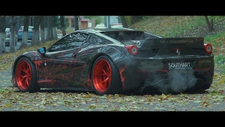 Ukraine 1/1 Only Ferrari 458 Liberty Walk | ARMYTRIX Titanium Exhaust | Vossen Wheels | Lushyn Films