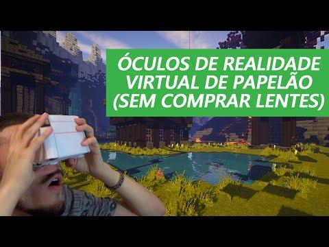 Óculos de Realidade Virtual Caseiro por R$5,00 (Google Cardboard SEM LENTES)