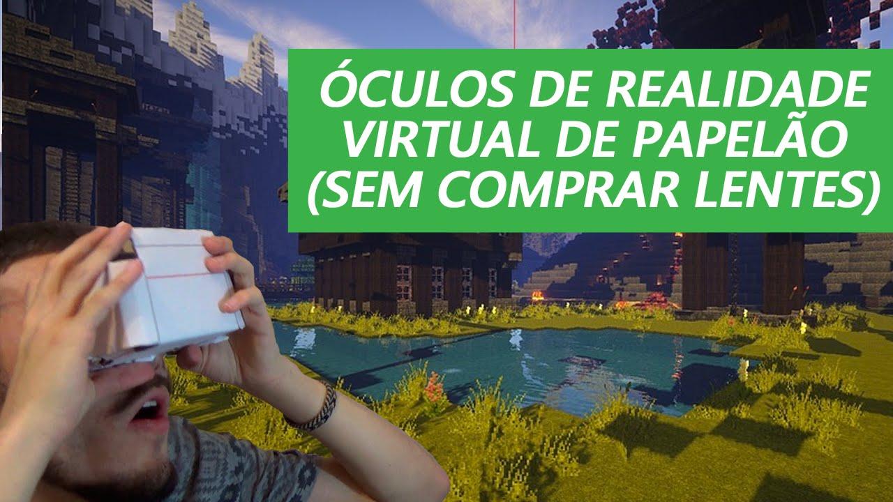 22859d18778 ✂ Óculos de Realidade Virtual Caseiro por R 5