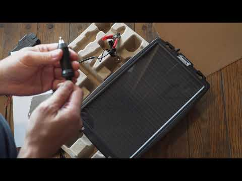 Unique Trickle Charger for Cars | Coleman Solar Car Charger OBD II