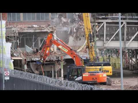 Ford Dagenham stamping and body plant Demolition part 9