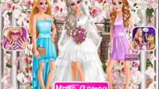 Мультик игра Принцессы Диснея на свадьбе Эльзы (Eliza and Princesses Wedding)