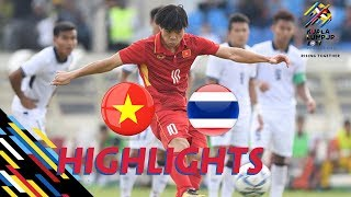 HIGHLIGHT | U22 VIỆT NAM vs U22 THAILAND | BẢNG B SEA GAMES 29