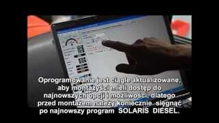 Solaris Diesel - diesel na gaz LPG - film z montażu