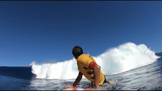 Every Surfers worst nightmare at Jaws POV