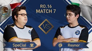 [GSL vs. the World 2019] Ro.16 Match7 SpeCial vs Reynor