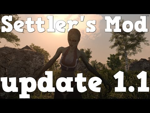 7 days to die | Settler's Mod update 1.1| showcase