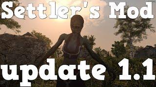 7 days to die   Settler's Mod update 1.1  showcase