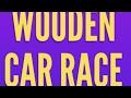 Wooden Car Race In Wood Shop