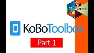 شرح برنامج كوبو تولبوكس الجزء الاول  kobotoolbox part 1