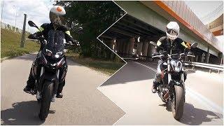 Ile mocy potrzeba, żeby cieszyćsięz motocykli? Porównanie Benelli TRK 251 i Benelli 302S