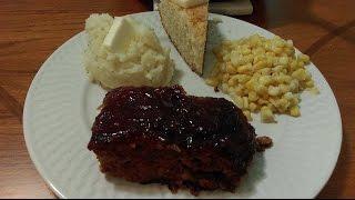 Homemade Meatloaf - The Hillbilly Kitchen
