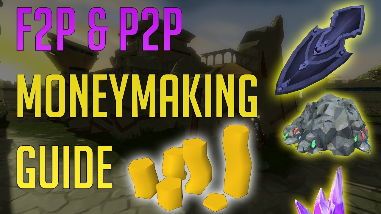 Runescape 3 - AFK F2P & P2P Moneymaking guide 2019