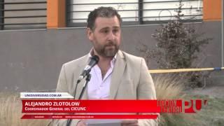Inauguración Instalaciones Unidiversidad: Habla Alejandro Zlotolow, Coordinador CICUNC
