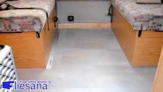 Wohnmobil sanieren mit Fliesana - Wohnanhänger, Wohnwagen und Caravan modernisieren