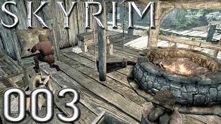 TES V: Skyrim | 003 - Zu Besuch in der Schmiede - [Let