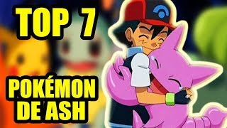 connectYoutube - MIS 7 POKÉMON FAVORITOS DE ASH EN EL ANIME (Todas las Generaciones)|Top Pokémon | Scorph