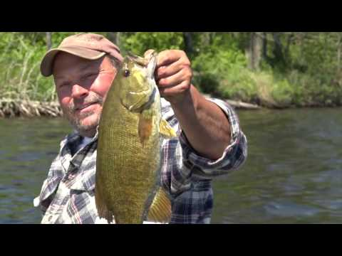HUGE Smallmouth Bass In Ely, MN! Season 2 - Episode #1