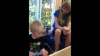Katie And Wesley Help Me Work My New Kreg Jig