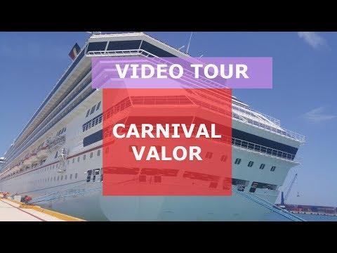 Carnival Valor Video Tour