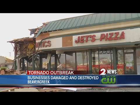 Beavercreek Businesses Begin Extensive Cleanup Process