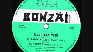 Final Analyzis - El Punto Final (Power Mix) (1992)