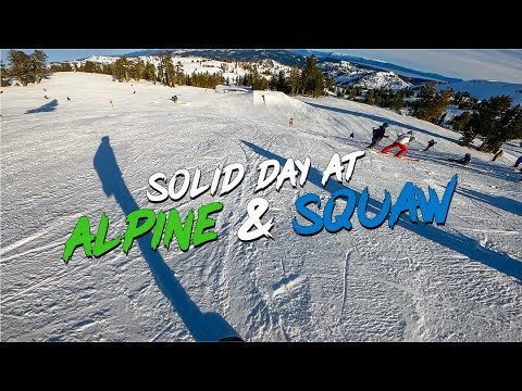 Solid Day At Alpine & Squaw