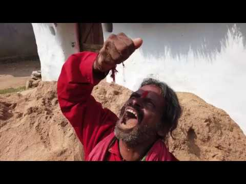A Devotee from India Nukala Koteswara Rao Eat raw Sand/Soil