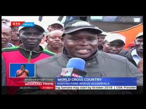 Kenyan fans arrive in style in Uganda to cheer on the X-country IAAF team