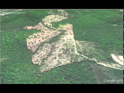 Finding Hidden Deer Hunting Funnels On Aerial Photo