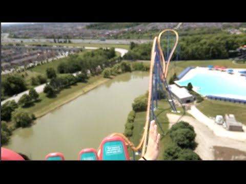 BEHEMOTH!! Canada's Wonderland! on-ride POV - Vaughan, Ontario 2016