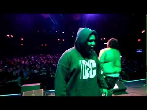 WALE - FATZ DA BIG FELLA - BLACK COBAIN live at the Fillmore